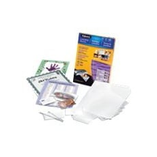 Fellowes Laminating Pouches Starter kit - 130-pack - glossy - lamination po