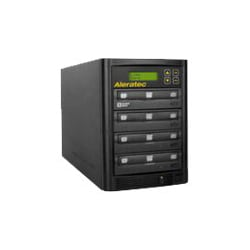 Aleratec 1:3 DVD/CD Copy Tower Stand-Alone DVD duplicator - external