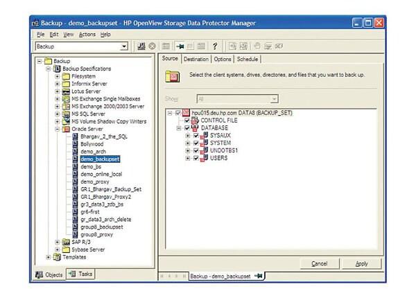 Micro Focus Data Protector Direct Backup using NDMP - license - 1 server, 1
