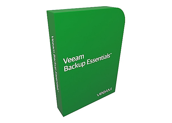 Veeam Backup Essentials Enterprise for VMware - product upgrade license - 2