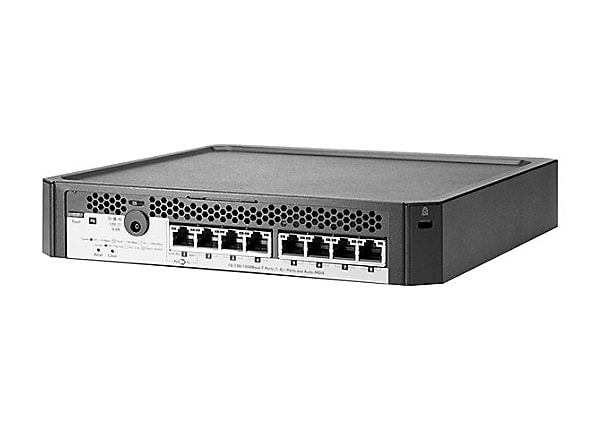 HP PS1810-8G Switch -8 ports - managed - desktop, wall-mountable
