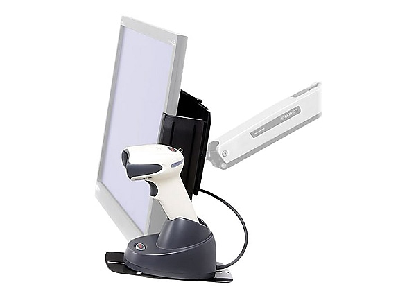Ergotron Scanner Shelf , VESA Attach - bar code scanner shelf
