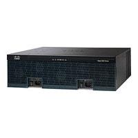 Cisco 3945E - Voice Bundle - router - voice / fax module - rack-mountable