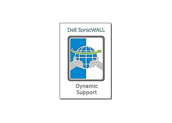 Sonicwall Dynamic Support 24X7 - extended service agreement - 1 year - ship