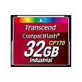 Transcend CF170 Industrial - flash memory card - 32 GB - CompactFlash