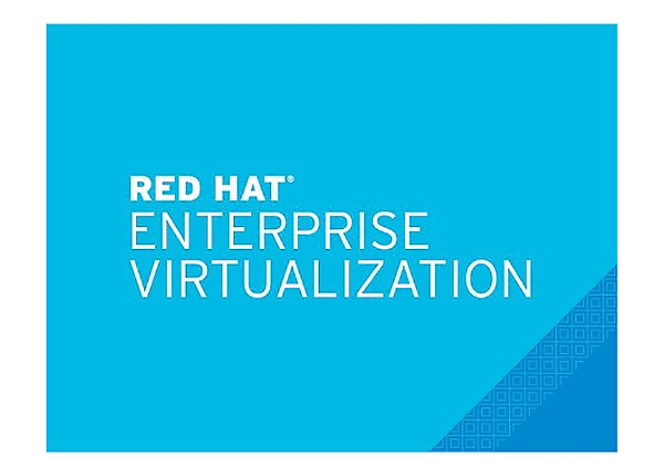 Red Hat Enterprise Virtualization - standard subscription (1 year) - 4 sock