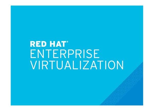 Red Hat Enterprise Virtualization - standard subscription (1 year) - 4 sock