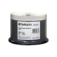 Verbatim DataLifePlus - DVD+R DL x 50 - 8.5 GB - storage media