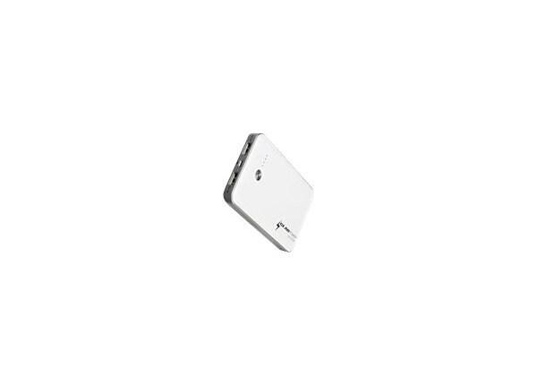 GearPower Mobile Power Station - external battery pack + AC power adapter L