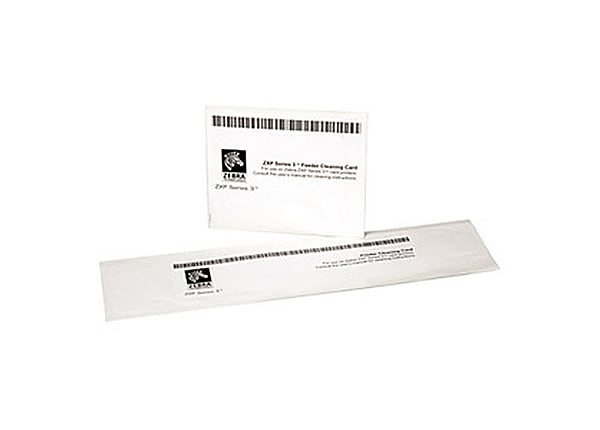 Zebra Cleaning Kit - 8-pack - printer cleaning card kit