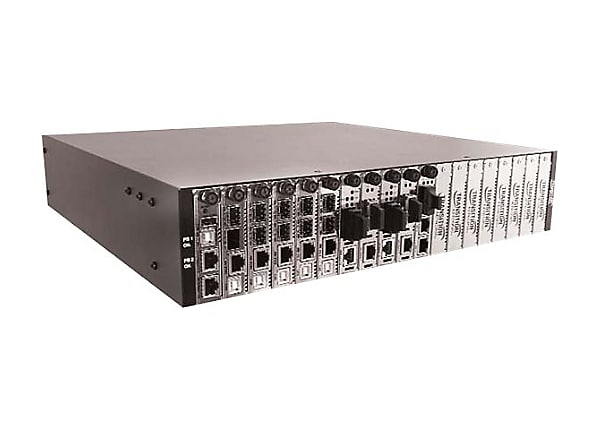 Transition Networks 19-Slot Chassis for The ION Platform - modular expansio