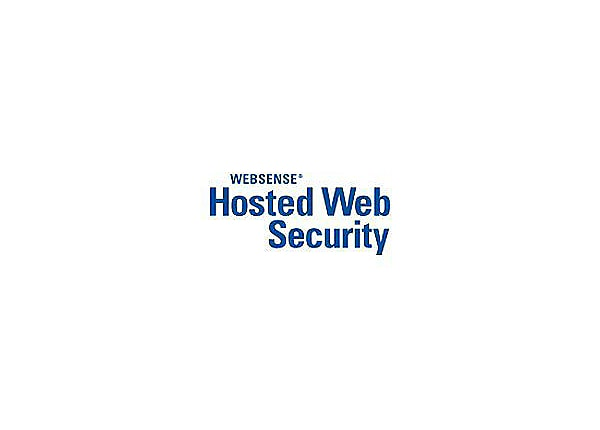 Websense Hosted Web Security - subscription license renewal (2 years) - 1 s