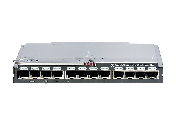Brocade 16Gb/28 SAN Switch for HP BladeSystem c-Class - switch - 28 ports -