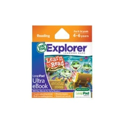 LeapPad Ultra eBook Cartridge: Learn to Read Collection: Adventure Stories
