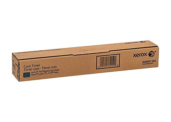 Xerox - cyan - original - toner cartridge - Sold