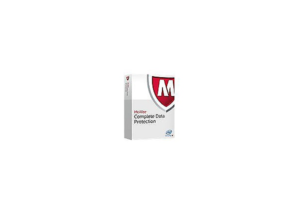 McAfee Complete Data Protection - competitive upgrade license + 1 Year Gold