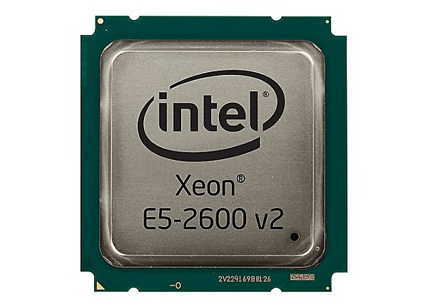 Intel Xeon E5-2640V2 / 2 GHz processor