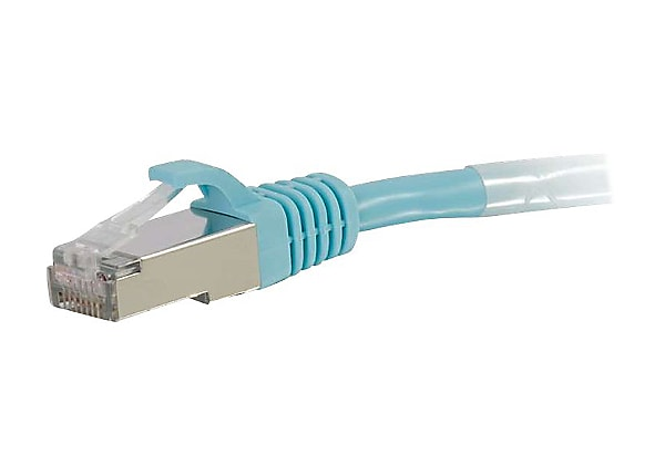 C2G Cat6a Snagless Shielded (STP) Network Patch Cable - patch cable - 20 ft