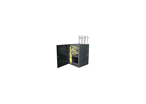 Middle Atlantic CWR Series CableSafe Data Wall Cabinet CWR-18-22PD cabinet