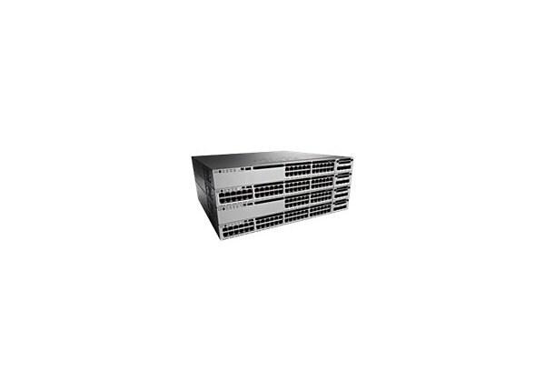 Cisco Catalyst 3850-48P-E - switch - 48 ports - managed - rack-mountable