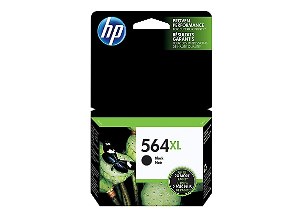 HP 564XL - High Yield - black - original - ink cartridge
