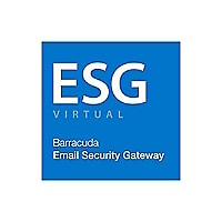 Barracuda Email Security Gateway 600Vx Virtual Appliance - subscription lic