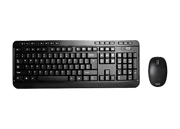 Adesso Wireless Desktop Keyboard & Mouse Combo WKB-1300UB - keyboard and mo