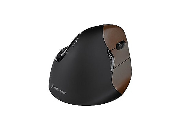 Evoluent Right-Handed VerticalMouse 4 Small Wireless - mouse - 2.4 GHz