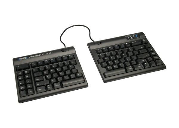Kinesis Freestyle2 Blue for Mac - keyboard - US - black