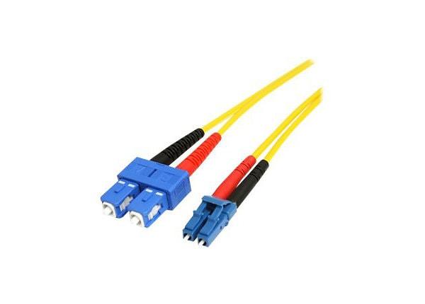 StarTech.com 4m Fiber Optic Cable - Single-Mode Duplex 9/125 LSZH - LC/SC