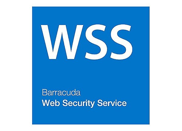 Barracuda Web Security - subscription license (1 year) - 1 license