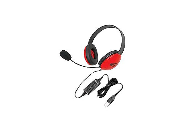Califone Listening First Stereo Headset 2800RD-USB - headset