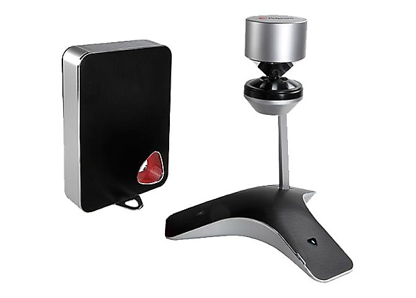 Poly - Polycom CX5100 Unified Conference Station Optimized for use with Mic