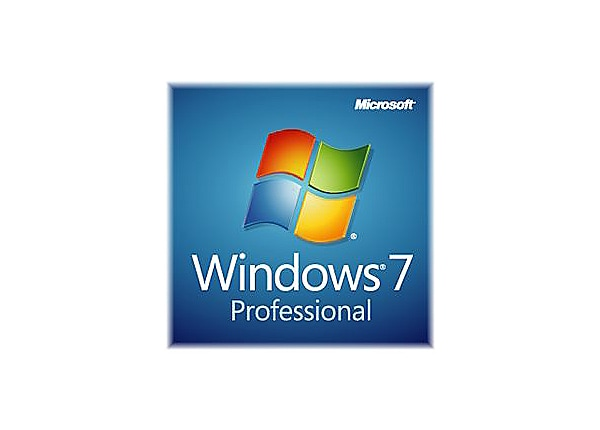 Microsoft Windows 7 Professional w/SP1 - license - 1 PC