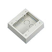Pan-Way Low Voltage Surface Mount Outlet Box - surface mount box