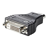 HP HDMI to DVI Adapter - video adapter - HDMI / DVI
