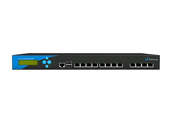 Barracuda NextGen Firewall F-Series F600 - security appliance - with 1 year Energize Updates