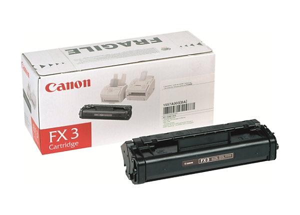Canon FX-3 Black Toner Cartridge