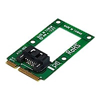 StarTech.com SATA Drive to mSATA Host Adapter for 2.5in/3.5in SATA Drives