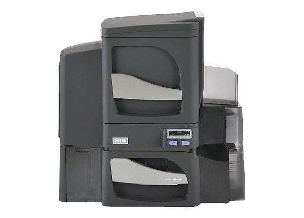Fargo DTC 4500e Dual Sided - plastic card printer - color - dye sublimation