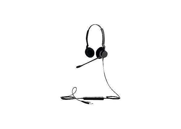 Jabra BIZ 2300 USB MS Duo - headset