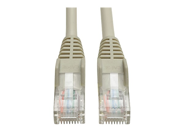 Tripp Lite 25ft Cat5e / Cat5 350MHz Snagless Patch Cable RJ45 M/M Gray 25'