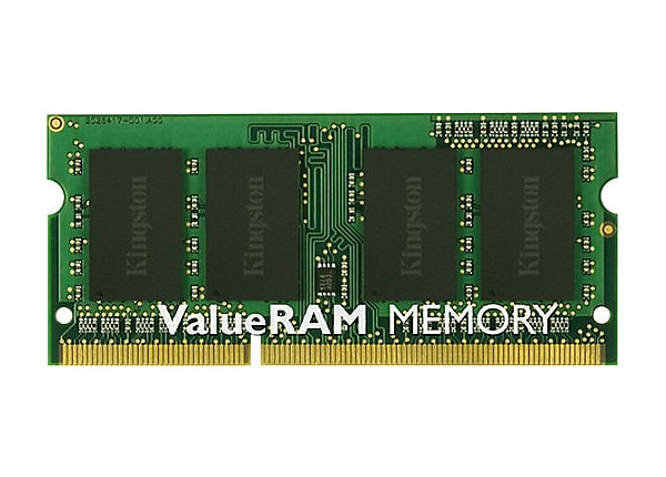 Kingston ValueRAM - DDR3 - 2 GB - SO-DIMM 204-pin - unbuffered