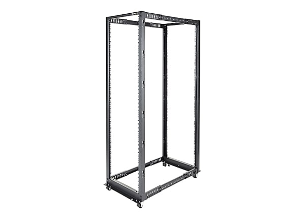 StarTech.com 42U Adjustable Depth Open Frame 4 Post Server Rack - Flat Pack