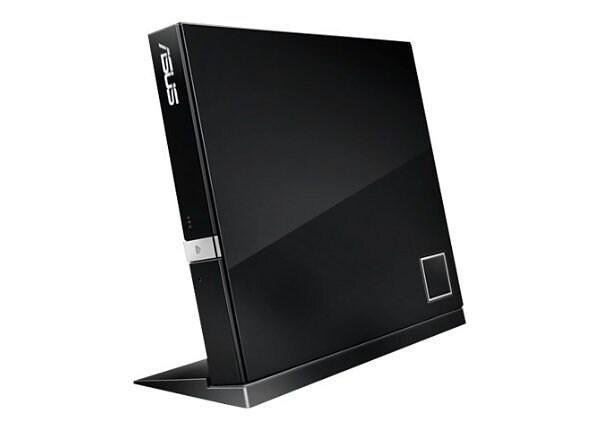 ASUS SBC-06D2X-U - DVD±RW (±R DL) / DVD-RAM / BD-ROM drive - USB 2.0