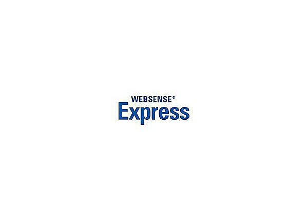 Websense Express - subscription license renewal (3 years) - 1 seat
