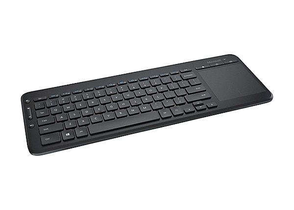 Microsoft All-in-One Media - keyboard - with touchpad - English - North Ame