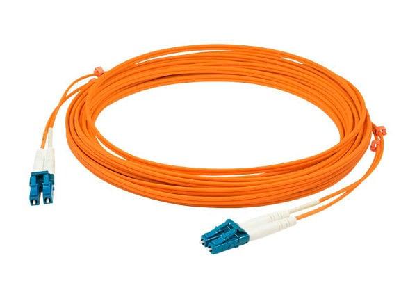 Proline 5m LC (M) to LC (M) Orange OM1 Duplex Fiber OFNR Patch Cable