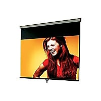 "Draper Luma with AutoReturn 16:9 HDTV Format - projection screen - 100"" (10"