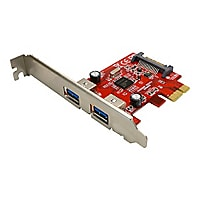 VisionTek Connect PCIe 2-port USB 3.0 Host Adapter - USB adapter